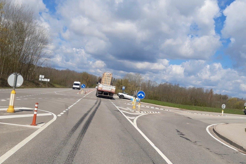 Per avariją Utenos r. žuvo du žmonės.<br>Utenos apskrities VPK nuotr.