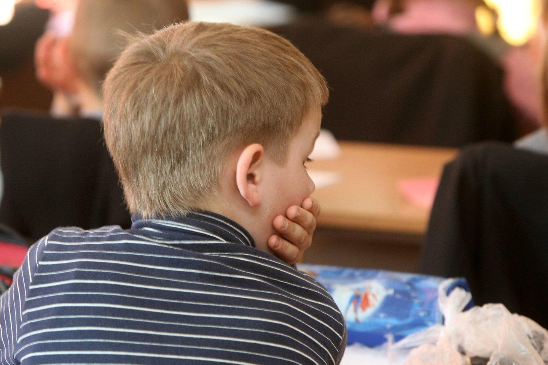 Mokiniams – naujas ministerijos planas: papildomos matematikos ir fizinio ugdymo pamokos bei laisvadieniai.<br>R.Jurgaičio nuotr.