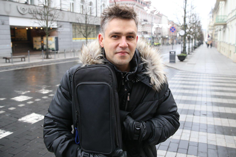 Andrius Pojavis.<br>R.Danisevičiaus nuotr.