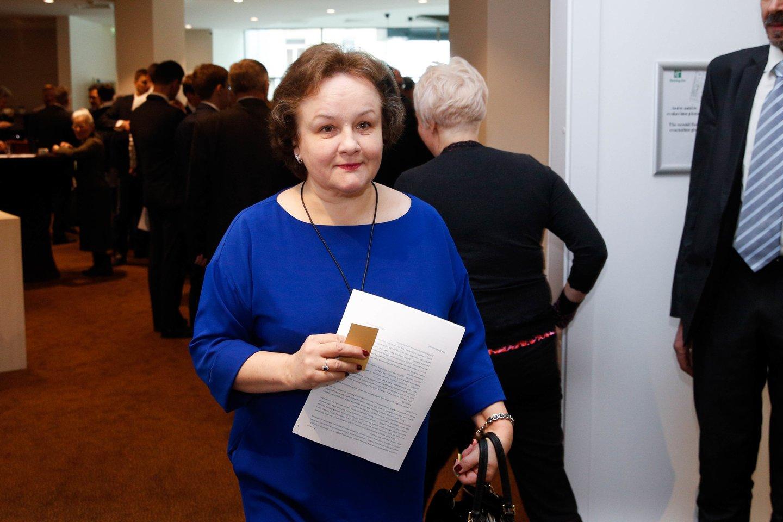 """L. Andrikienė: """"Tūkstantmečio gimnazijų infrastruktūra galėtų naudotis visi regiono mokiniai"""".<br>T.Bauro nuotr."""