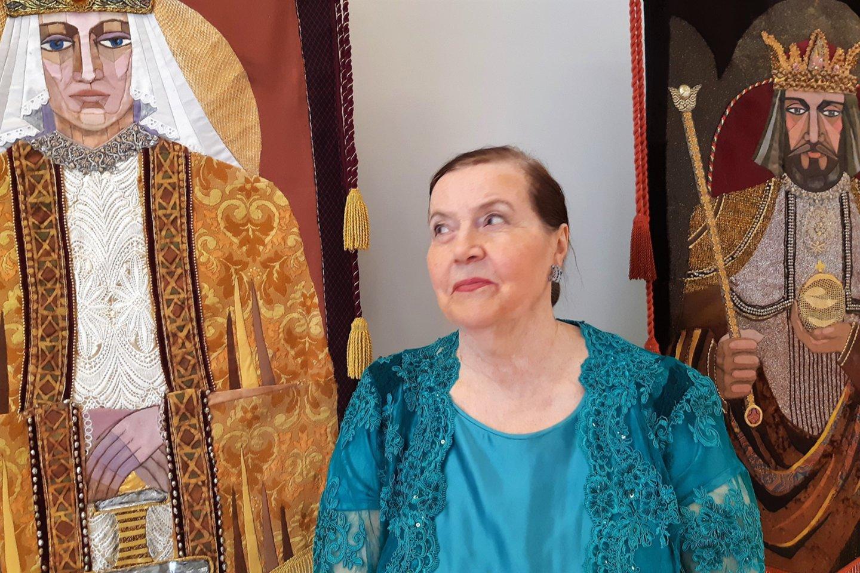 Scenografė Sofija Kanaverskytė.<br>G.Pilaičio nuotr.