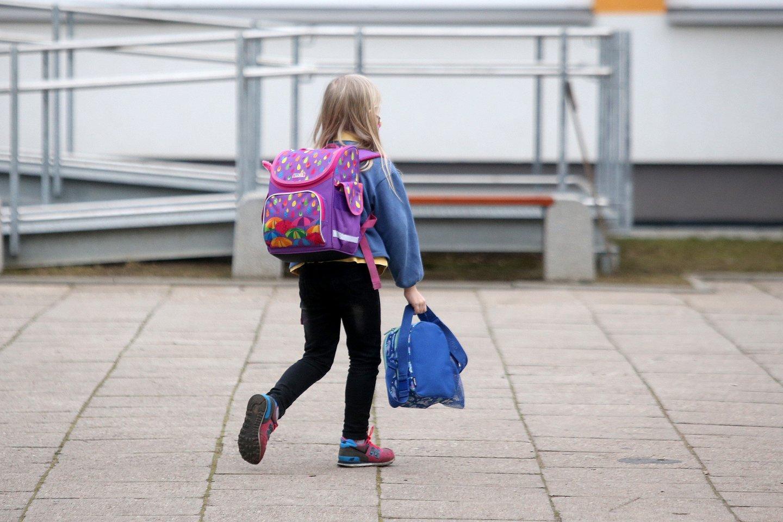 Alytuje 5-11 klasių moksleiviai į mokyklas šiemet nebegrįš.<br>R.Danisevičiaus nuotr.