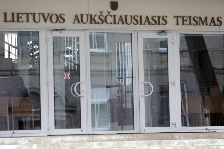 Lietuvos Aukščiausiasis Teismas.<br>V.Balkūno nuotr.