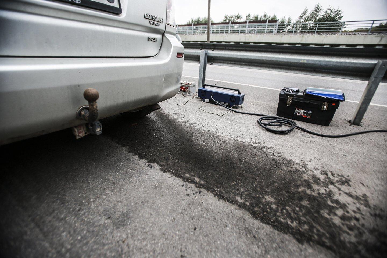 Transporto tarša nuotoliniu būdu matuota Švedijoje, Ispanijoje, Danijoje, Jungtinėje Karalystėje, Bulgarijoje, Austrijoje, Lenkijoje, Šveicarijoje, JAV, Vokietijoje ir kitose šalyse.<br>G.Bitvinsko nuotr.