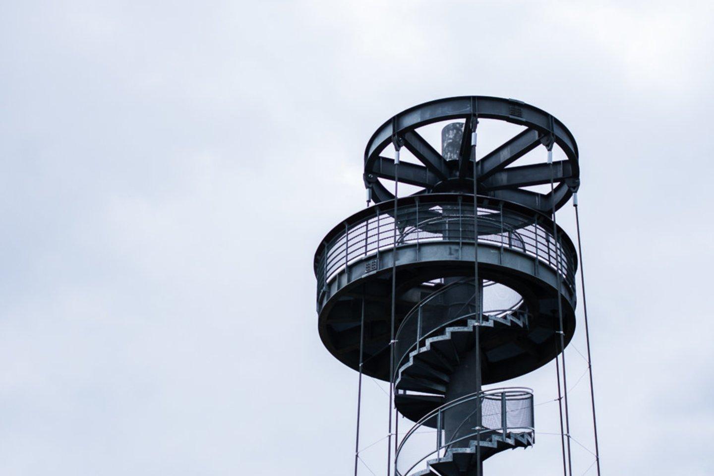 Krekenavos apžvalgos bokštas.<br>R.Ančerevičiaus/JP.lt nuotr.