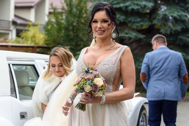 Vestuvių akimirkos.<br>A.Kubaičio nuotr.