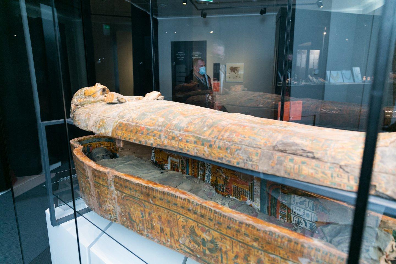 Amono-Ra žynio Horio, Amenemopės sūnaus sarkofagas.<br>T. Bauro nuotr.