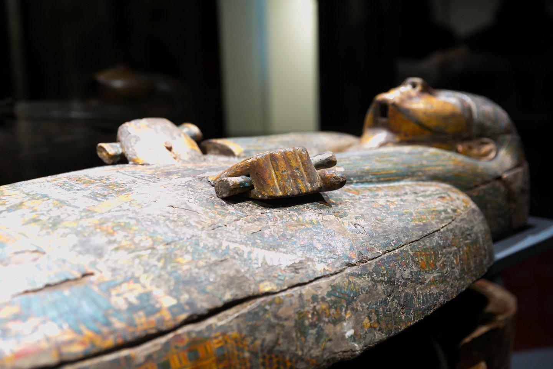 Vilniuje duris atveriapirmoji tokia paroda, kurioje galima pamatyti beveik visus Lietuvoje saugomus egiptietiškus eksponatus po vienu stogu<br>T. Bauro nuotr.