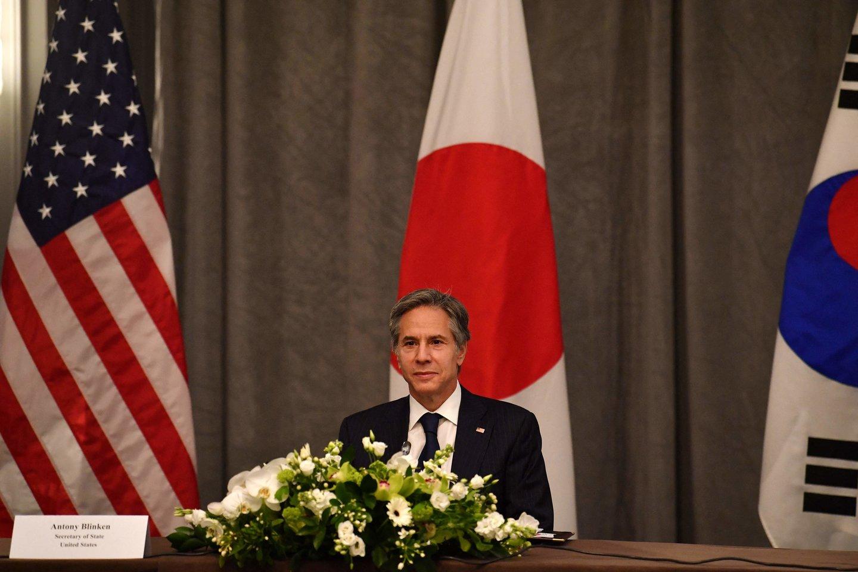 Abi Azijos šalys yra Jungtinių Valstijų sąjungininkės.<br>AFP/Scanpix nuotr.