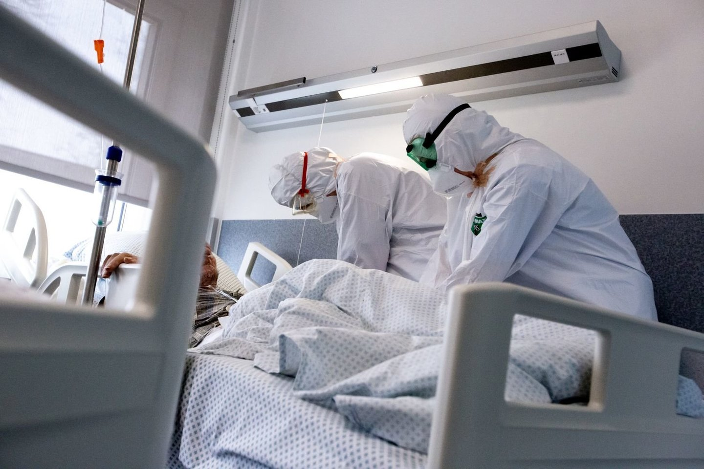 Vilniaus universiteto ligoninė Santaros klinikos, koronavirusas<br>V.Balkūno nuotr.