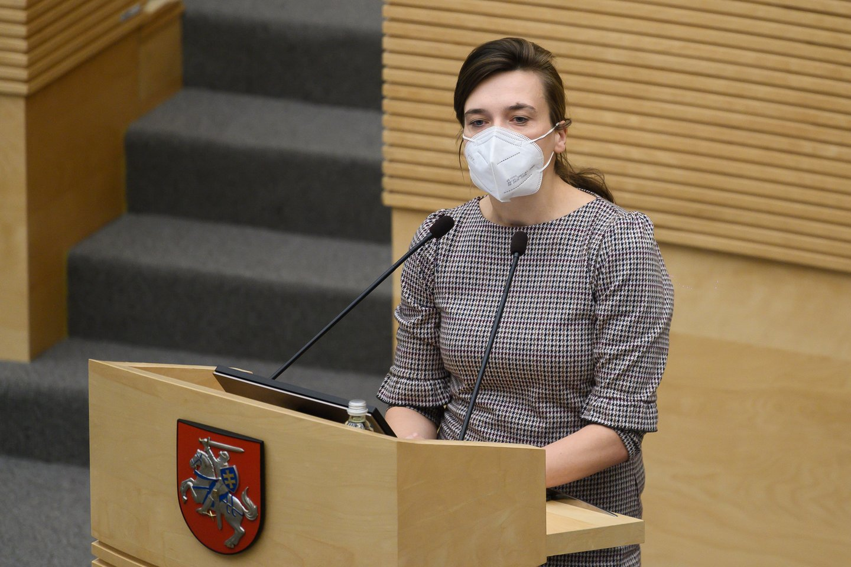 Radvilė Morkūnaitė-Mikulėnienė.<br>V.Skaraičio nuotr.