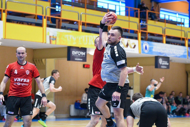 Trečiadienį Lietuvos rankinio lygoje vyko pirmosios pusfinalių kovos.<br>LRL nuotr.