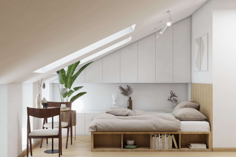 Palangos centre vystomas projektas, kuriame poilsio apartamentai bus iš anksto pritaikyti nuomai.<br>Vizual.