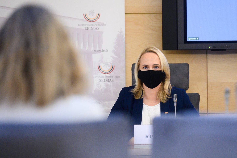 Trakų merė Edita Rudelienė.<br>V.Skaraičio nuotr.