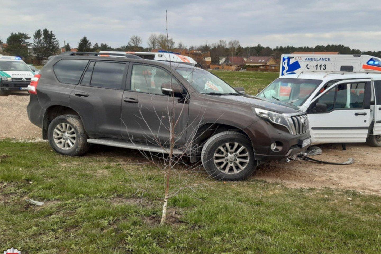 Praėjusios paros avarijose sužeista 12 žmonių.<br>LKPT nuotr.