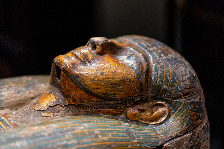 """Parodos """"Ką slepia sarkofagas"""" rengėjai žada, kad čia bus įdomu ir suaugusiems, ir vaikams.<br>LNM (S.Samsono) nuotr."""