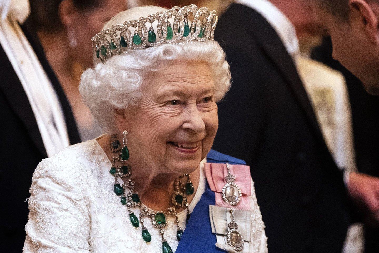 Karalienė Elizabeth II.<br>ROGER GEORGES/SIPA/ Scanpix nuotr.