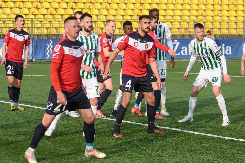 """Vilniaus """"Žalgirio"""" ekipa susitvarkė su """"Nevėžiu"""".<br>V.Skaraičio nuotr."""