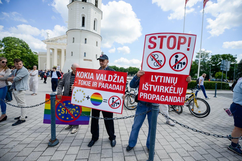 Protestas.<br>J.Stacevičiaus nuotr.