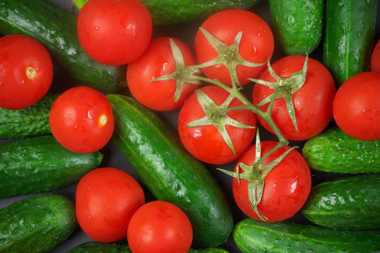 Planuojant valgiaraštį svarbu atkreipti dėmesį ir į daržovių spalvą.<br>123rf nuotr.