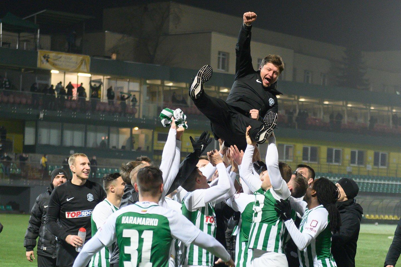 A.Baga praėjusiame sezone su sostinės klubu tapo Lietuvos čempionu.<br>V.Skaraičio nuotr.