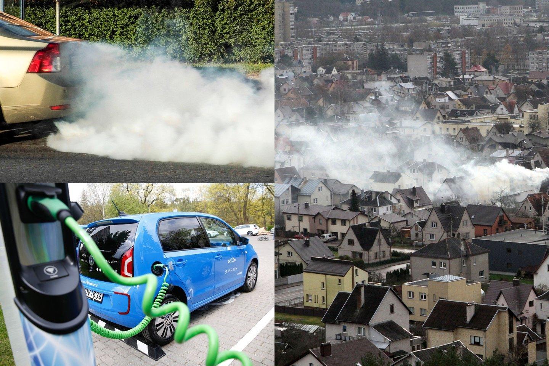 Šią vasarą ne mažiau kaip penkiose Vilniaus vietose bus matuojama automobilių keliama tarša realiomis jų važiavimo sąlygomis.<br>lrytas.lt fotomontažas