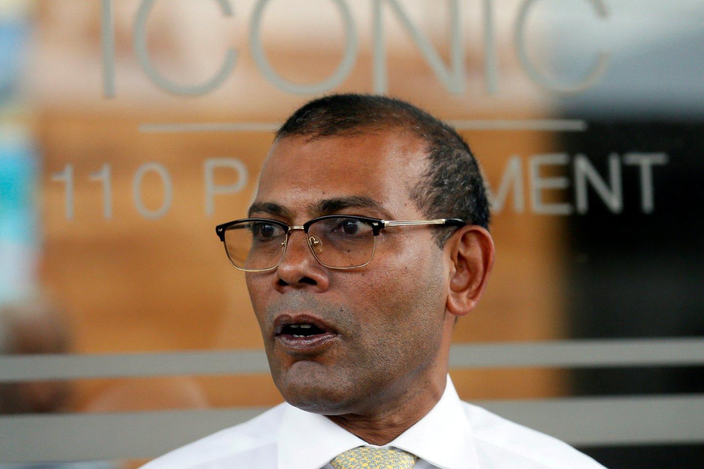 Per sprogimą sužeisto buvusio Maldyvų prezidento būklė – kritinė, sako ligoninė. <br>Reuters/Scanpix nuotr.