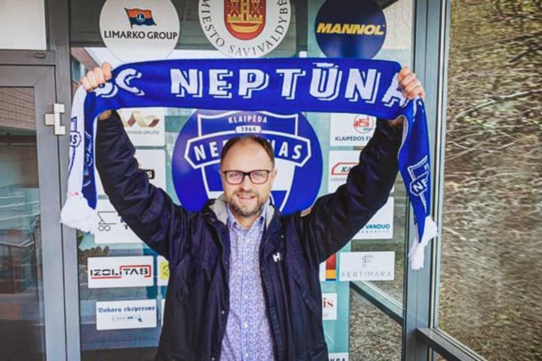 """Naujasis """"Neptūno"""" direktorius T.Mačiulskis.<br>bcneptunas.lt nuotr."""
