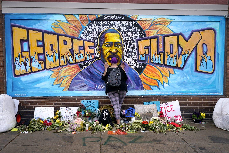 G. Floydo žūties byloje – naujas posūkis: pareikšta dar daugiau kaltinimų.<br>AP/Scanpix nuotr.