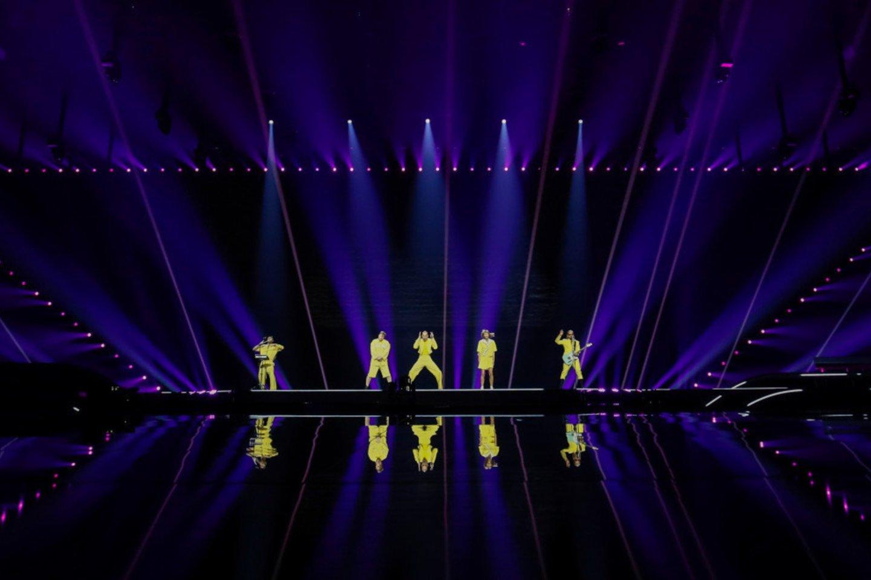 Grupės pirmoji repeticija.<br>EBU /ANDRES PUTTING nuotr.