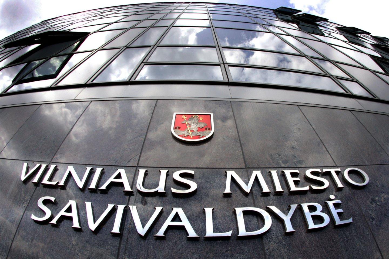 Vilniaus savivaldybė mažina jos pastato 20-ojo aukšto nuomos kainą.<br>V.Balkūno nuotr.