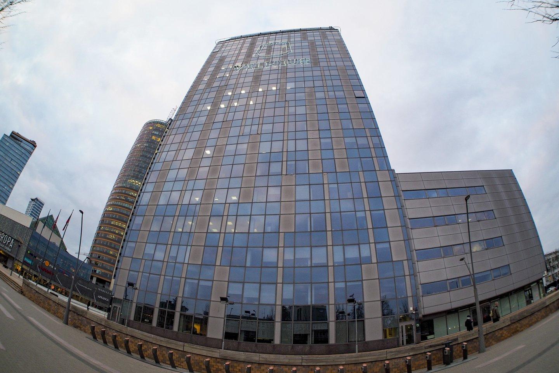Vilniaus savivaldybė mažina jos pastato 20-ojo aukšto nuomos kainą.<br>V.Ščiavinsko nuotr.