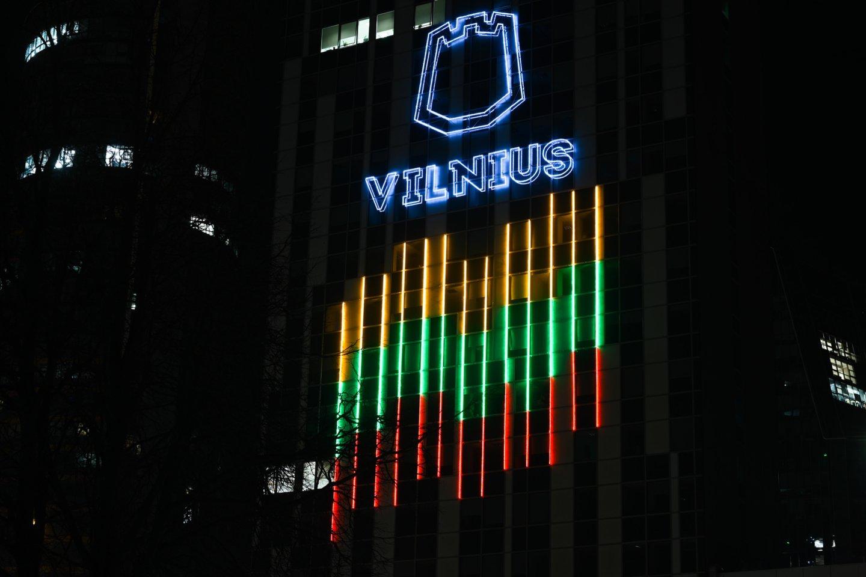Vilniaus savivaldybė mažina jos pastato 20-ojo aukšto nuomos kainą.<br>V.Skaraičio nuotr.