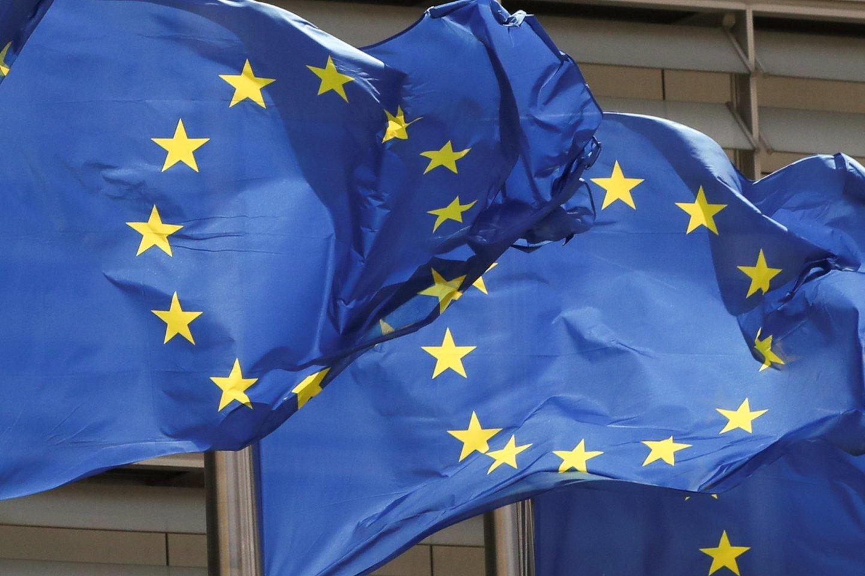 Gegužės 9-ąja ES paminėjo atidarydama Konferenciją dėl Europos ateities. <br>Reuters/Scanpix nuotr.
