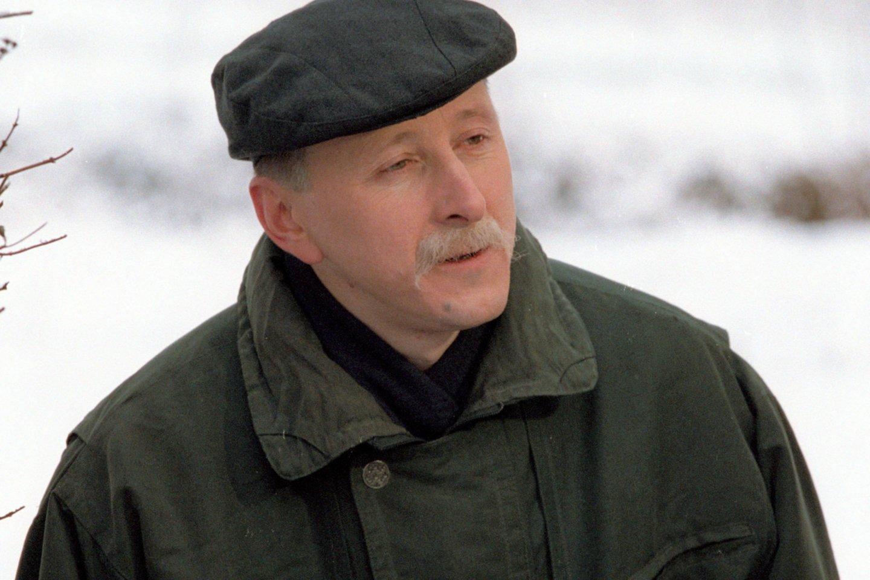 """Gegužės 10 dienąsueina dveji metai, kai netikėtai mirė humoristas, ilgametis """"Dviračio žinių"""" vedėjas, ekonomikos mokslų daktaras Vytautas Šerėnas.<br>J.Staselio nuotr."""