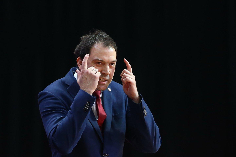 Panevėžio komandos treneris N.Čanakas.<br>G.Šiupario nuotr.
