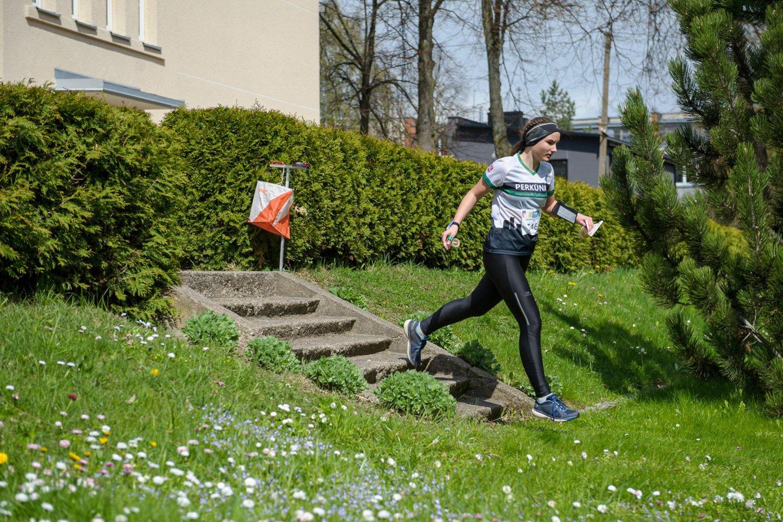 Orientacininkai varžėsi Panevėžyje.<br>D.Lazausko (Orienteering.lt) nuotr.