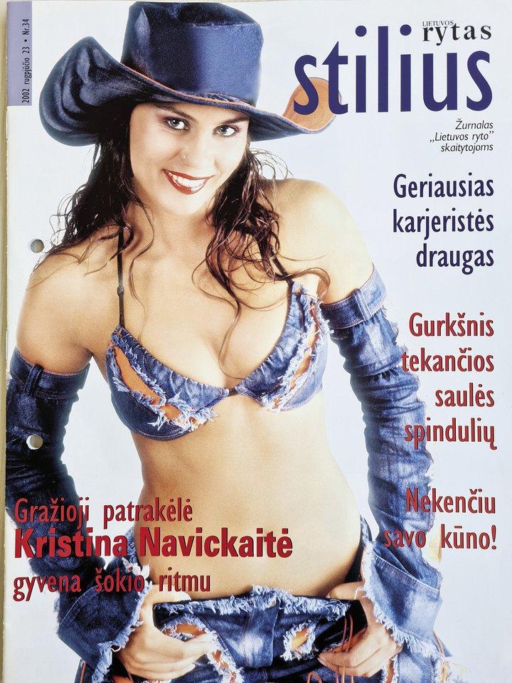 Kristina Navickaitė-Tina.<br>LR archyvo nuotr.