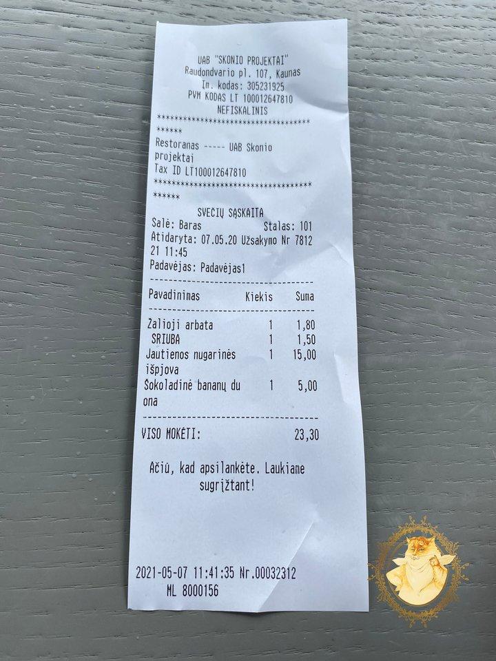 """Restoranas """"Okata"""" Kaune."""