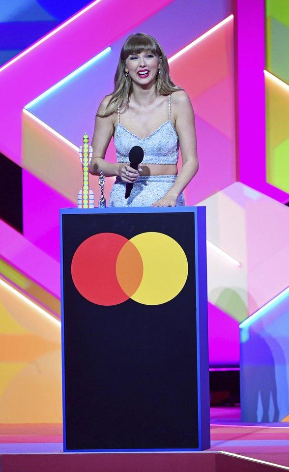 Taylor Swift.<br>Scanpix/AP nuotr.