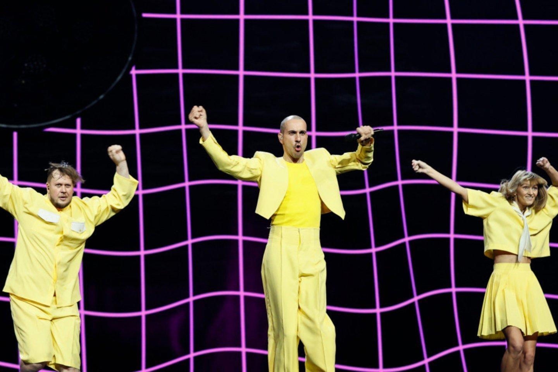 Pirmoji grupės repeticija.<br>EBU/ ANDRES PUTTING nuotr.
