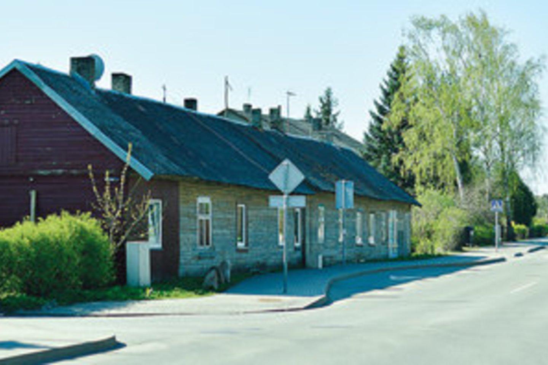 Kai Bajorai priklausė vokiečiams, šiame name Klaipėdos gatvėje veikė Lietuvos muitinė. Per Bajorus – į Vokietiją ir Rusiją.