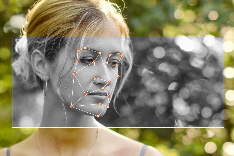 """Nuo nosies apačios iki antakių vidurio yra emocinio intelekto, arba kitaip – """"širdies teritorija"""".<br>123rf nuotr."""