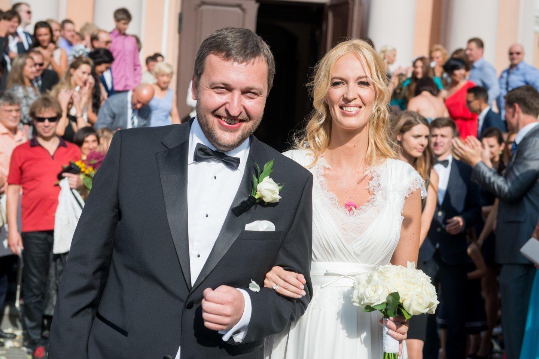 Antanas Guoga ir Aistė Guogienė.<br>J.Stacevičiaus nuotr.