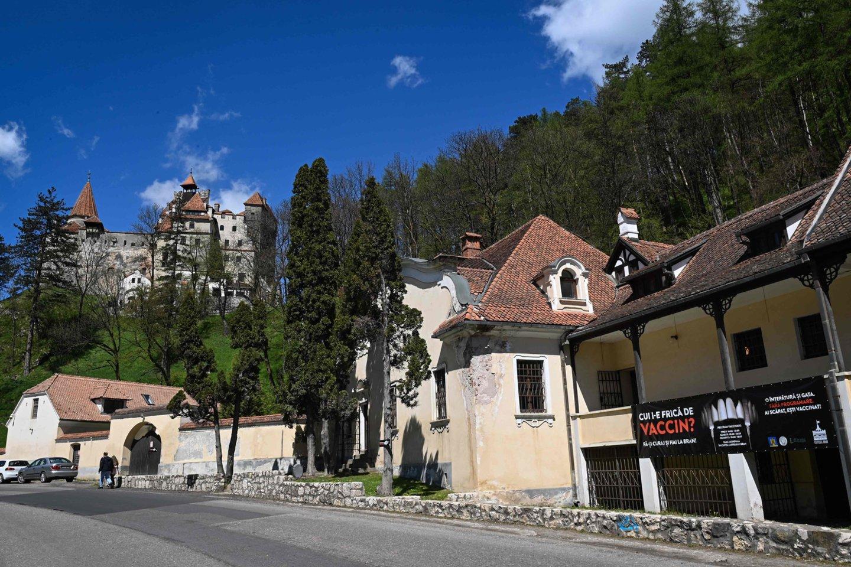 """Brano pilis yra žinoma dėl garsiojo Bramo Stokerio romano """"Drakula"""".<br>AFP/Scanpix nuotr."""