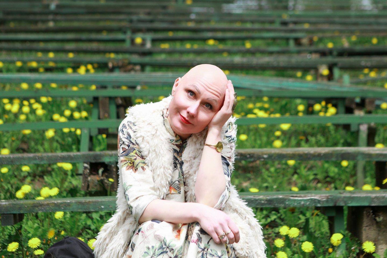 Rasa Andrikienė sugeba džiaugtis gyvenimu ir dabar.<br>G.Bitvinsko nuotr.