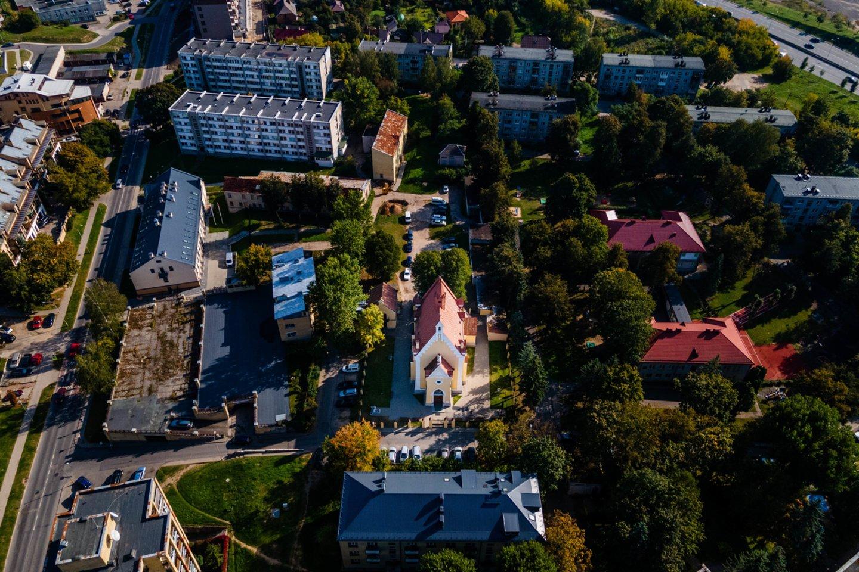 """Po Naujamiesčio atsinaujinimo ir suklestėjimo nekilnojamojo turto ekspertai svarsto, kuris Vilniaus rajonas ateityje gali pasekti jo pavyzdžiu.<br>""""Eika"""" nuotr."""