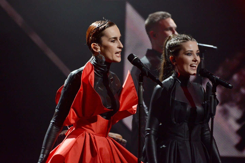 """Sustreikavo """"Eurovizijos"""" dalyvės sveikata: nedalyvaus repeticijoje.<br>Scanpix/ZP nuotr."""