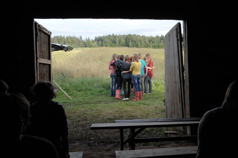 Vaikų stovykla.<br>V.Ščiavinsko asiciatyvi nuotr.