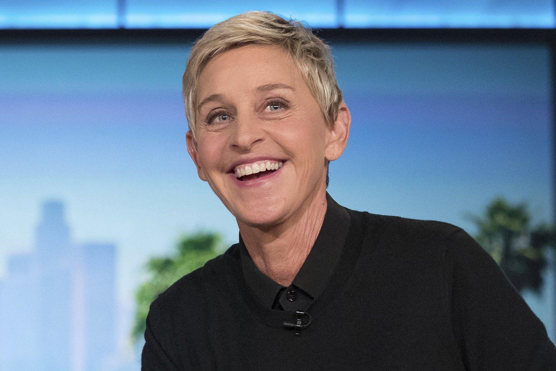 Ellen DeGeneres.<br>Scanpix/AP nuotr.